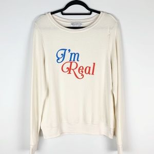 Wildfox | NWT I'm Real Baggy Beach Jumper Sweater